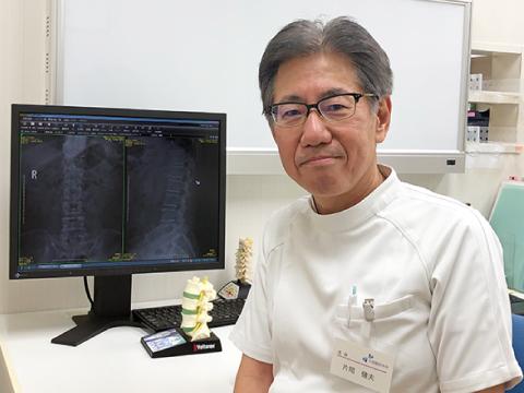 神戸市西区の片岡整形外科 片岡健夫院長
